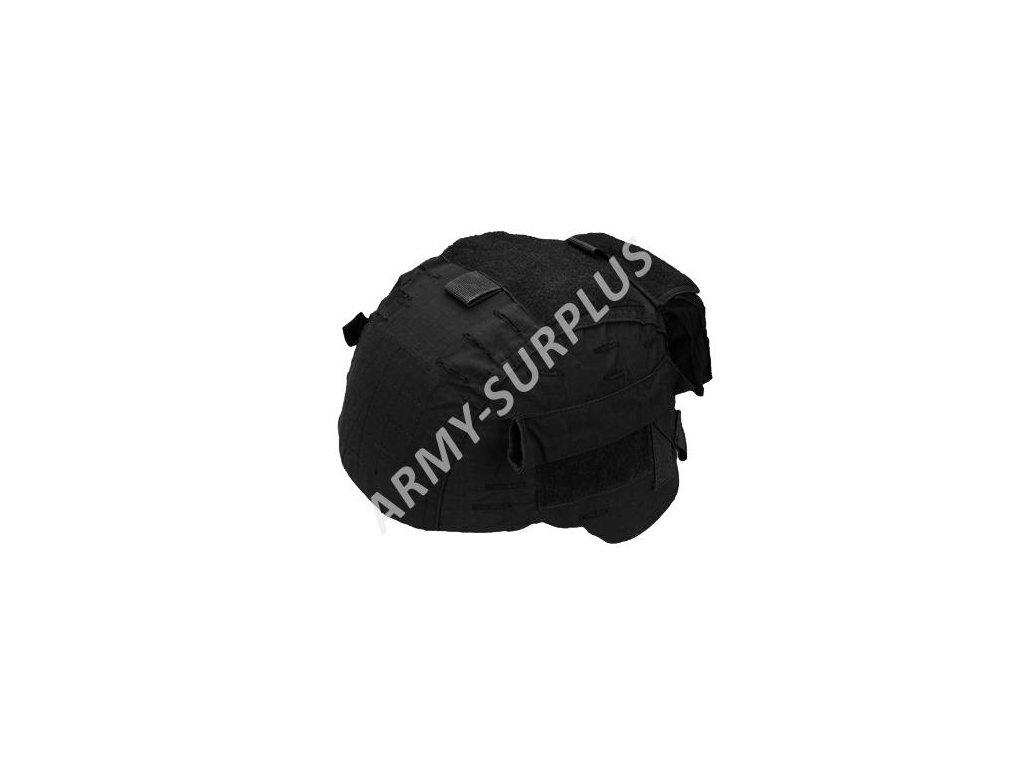 Povlak na helmu černý velcro Miltec