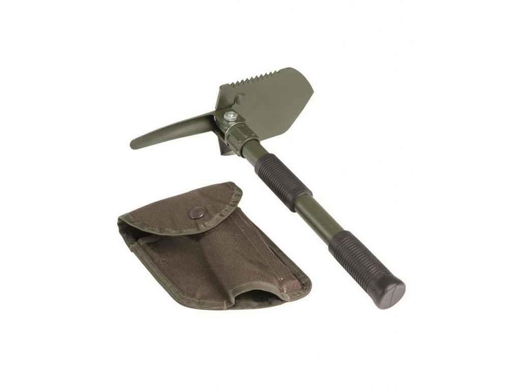 Lopatka mini skládací s bodlem oliv