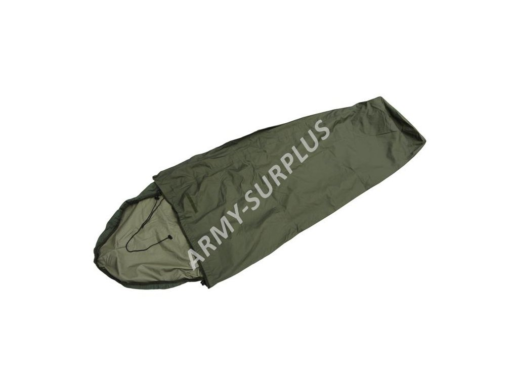Povlak na spací pytel (spacák, žďárák, bivak) Holandsko goretex oliv bivy cover