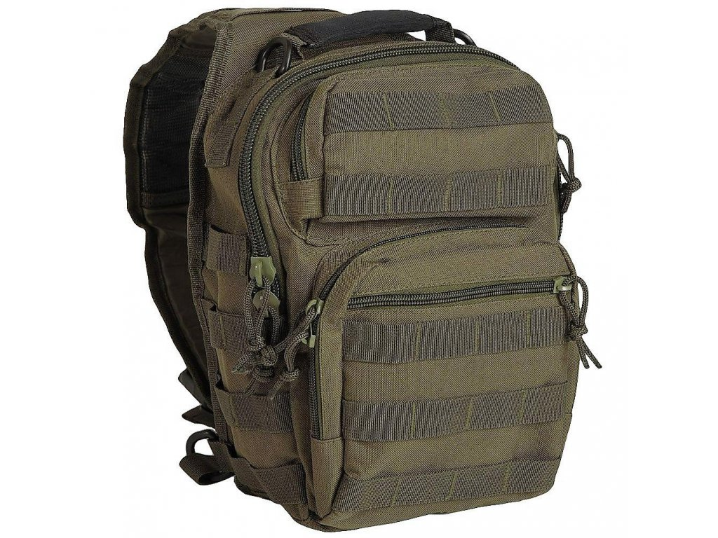 Batoh (taška) ASSAULT Pack přes rameno oliv 10l