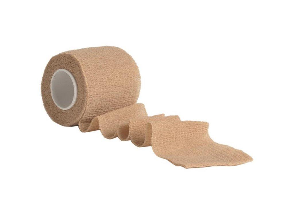 Lepící maskovací páska elastická coyote  15933005