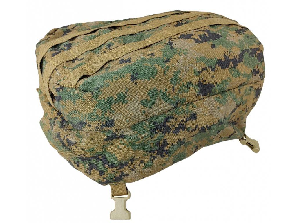 Víko kapsa na batoh USMC molle Marpat ILBE originál