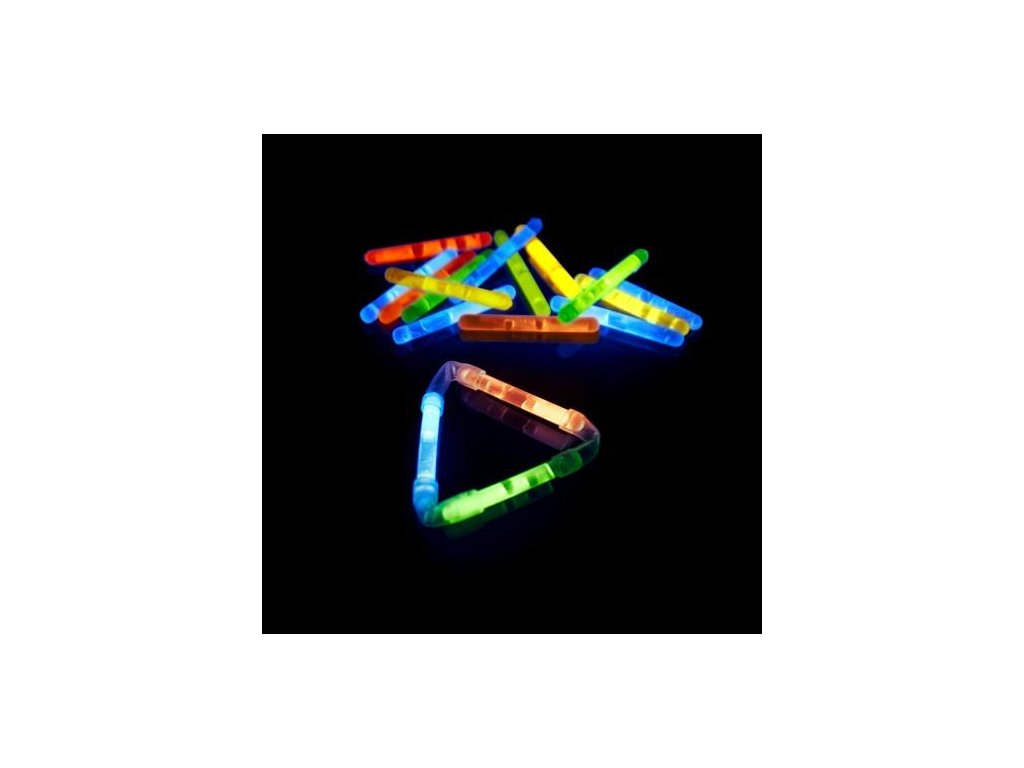 Chemické světlo Mikro-Knicklichter balení 80 kusů
