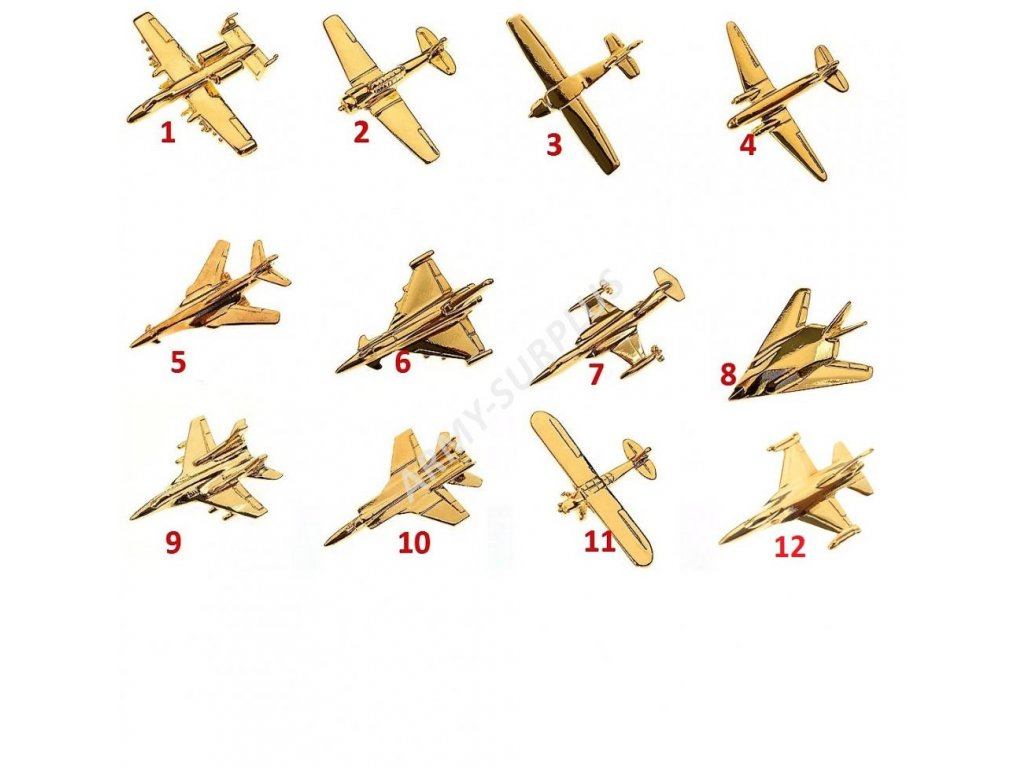 Odznak (pins) letadlo aviation
