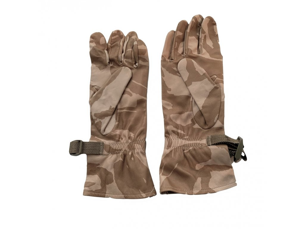 Rukavice britské kožené desert Combat gloves Velká Británie - ARMY ... 2bc5e3082c