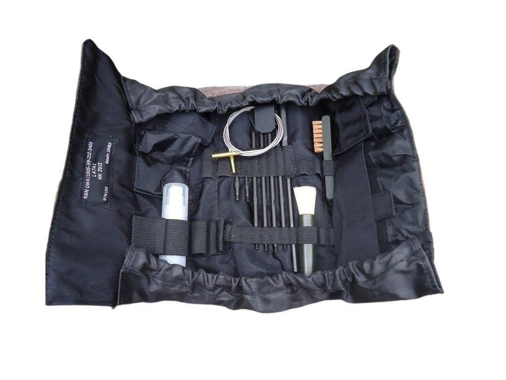 Čištění na zbraně SA80 set  britské multicamo MTP Velká Británie nové kompletní