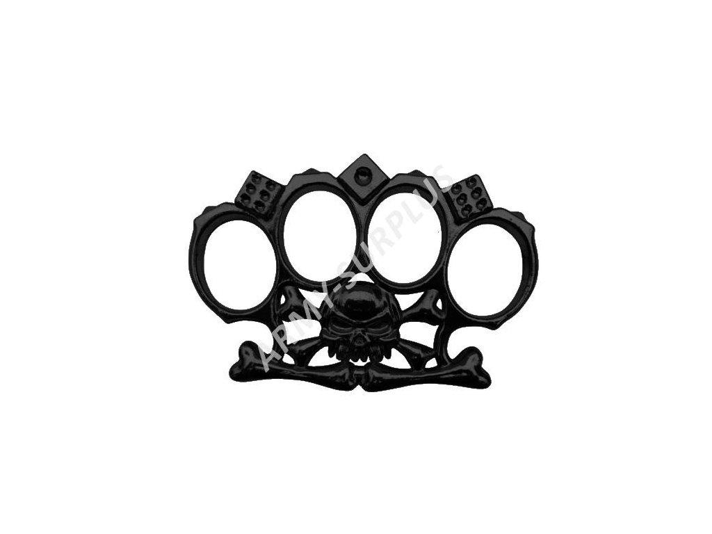 Boxer černý Hot Rod lebka-kostky