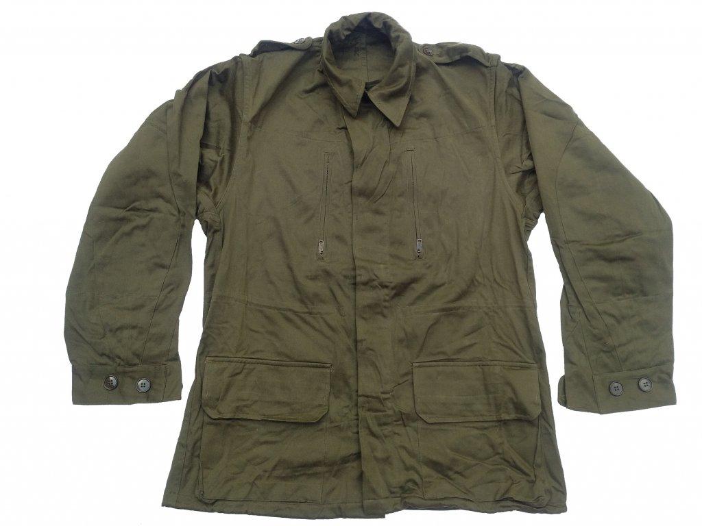 Bunda (blůza) Jacket M64 Francie F1 oliv starší typ originál
