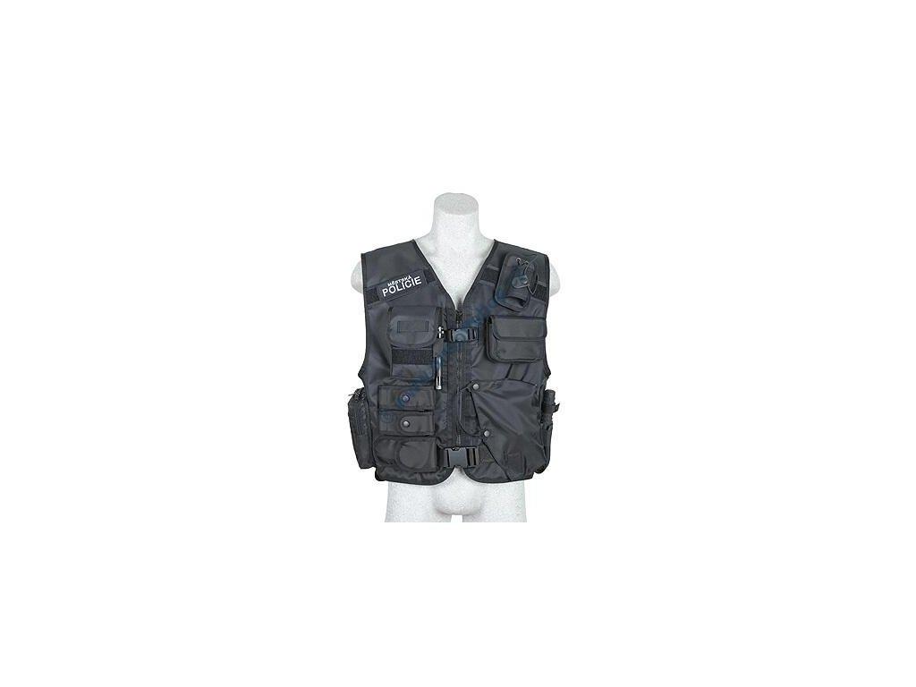 Taktická vesta policejní (Policie) Dasta 639/P černá