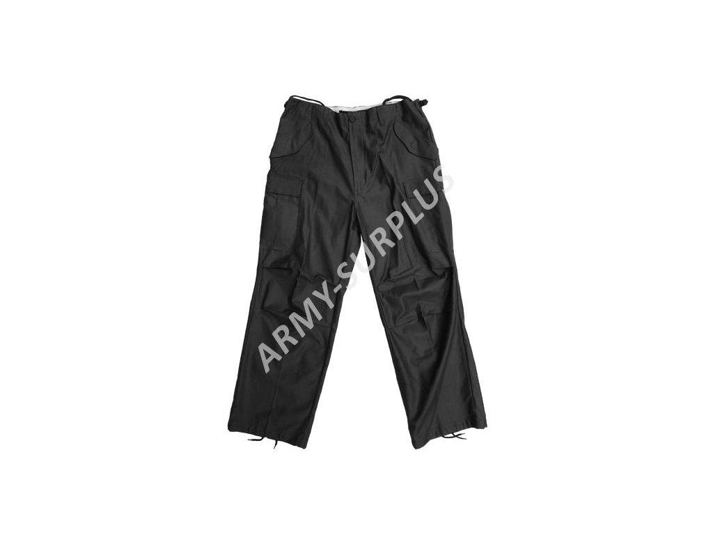 Kalhoty polní M65 repro černé Fostex
