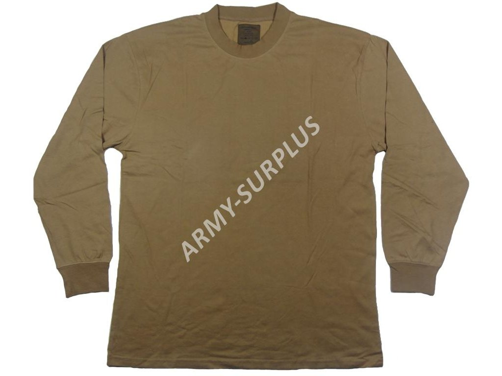 245f7bd6711 Triko AČR hnědé dlouhý rukáv nové - ARMY-SURPLUS