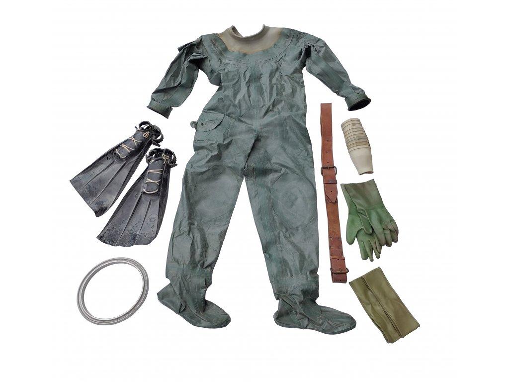 Kombinéza (skafandr) potápěcí suchý oděv armádní PW-2 Polsko