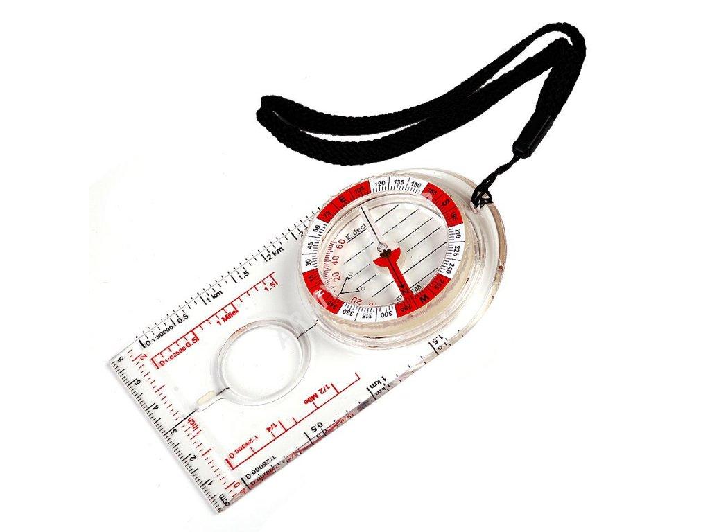 Kompas (buzola) mapovka Ultimate Fosco svítící ve tmě