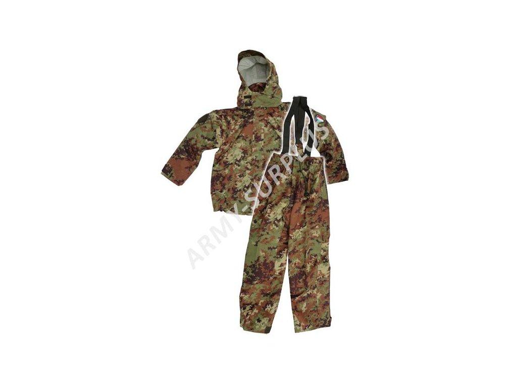 Komplet Itálie vegetato nepromokavý originál Esercito