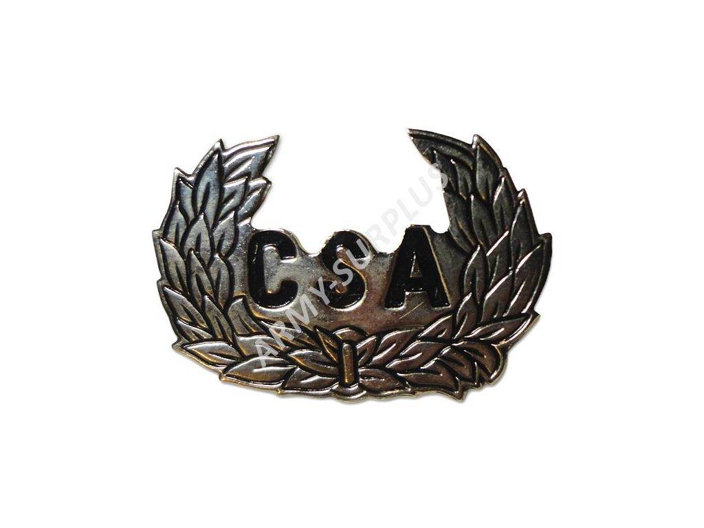 Odznak CSA (Confederate States of America) stříbrný