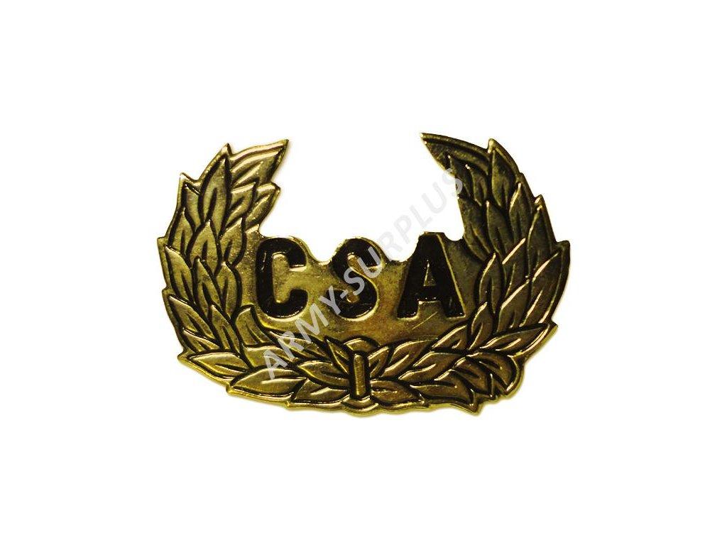 Odznak CSA (Confederate States of America) zlatý