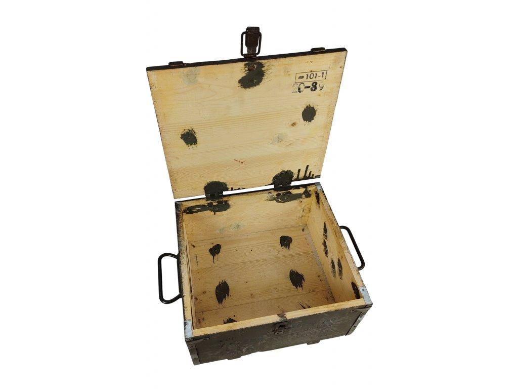 e803a9468f04 Bedna muniční CZ dřevěná - ARMY-SURPLUS