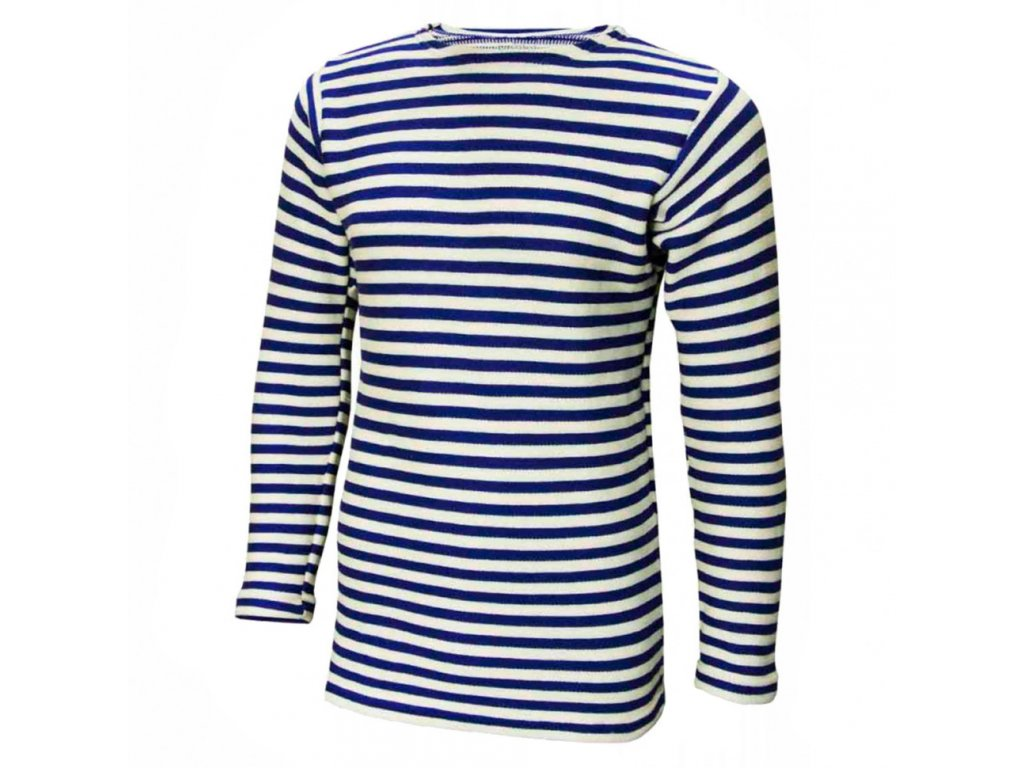 Tričko (triko) ruské námořnické dlouhý rukáv tmavě modré originál VMF