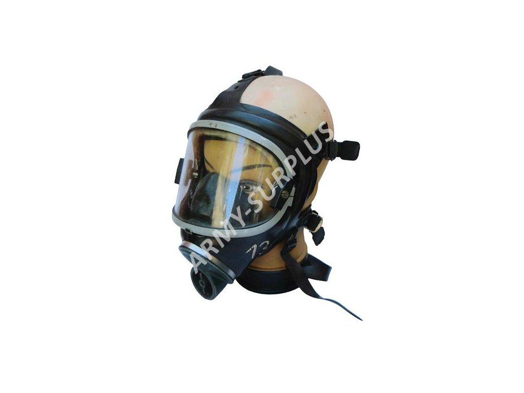 Plynová maska Drager Panorama NOVA se stěračem černá