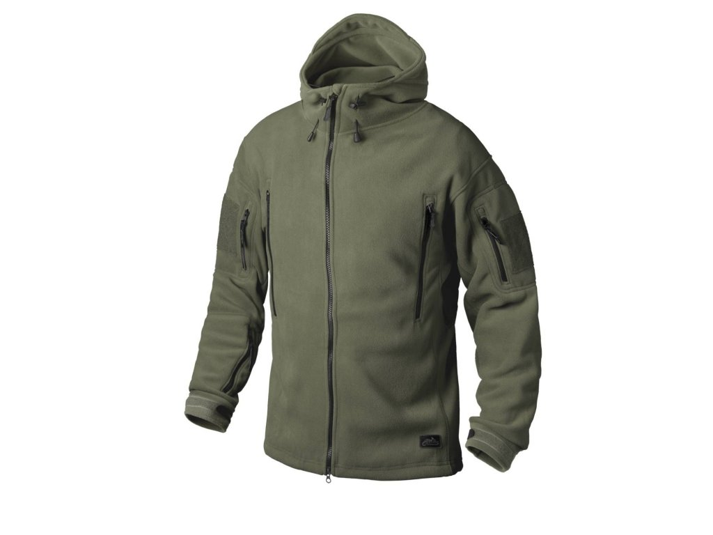 Mikina Helikon Patriot Heavy Fleece Jacket oliv BL-PAT-HF-02