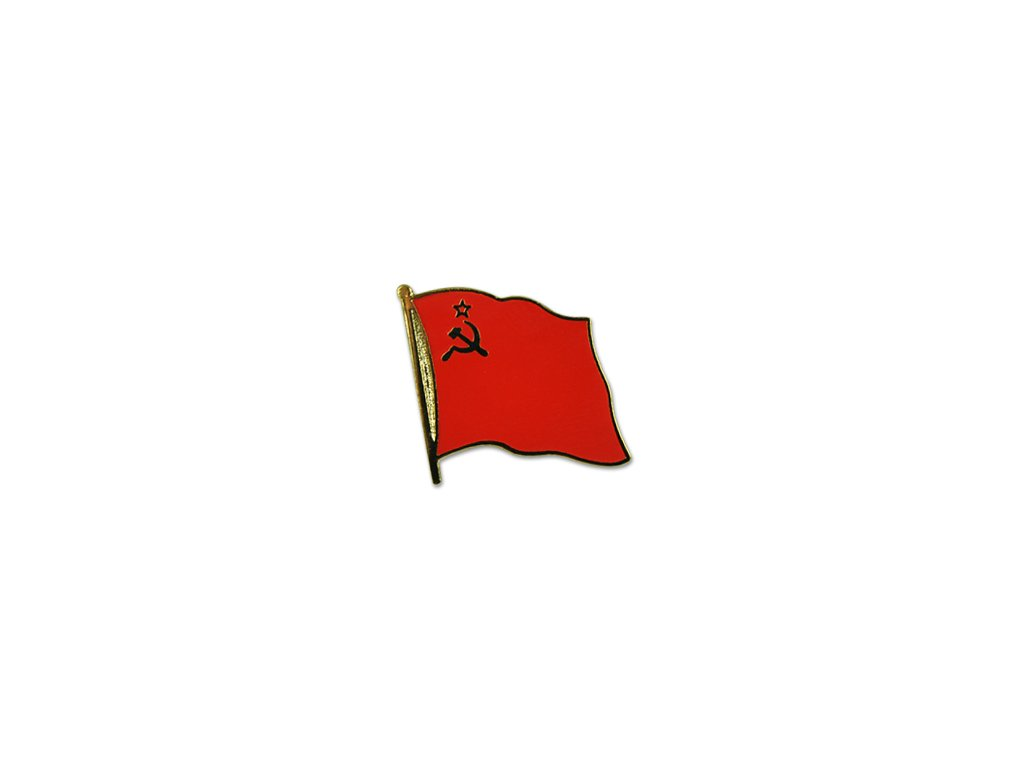 Odznak (pins)  20mm praporek CCCP