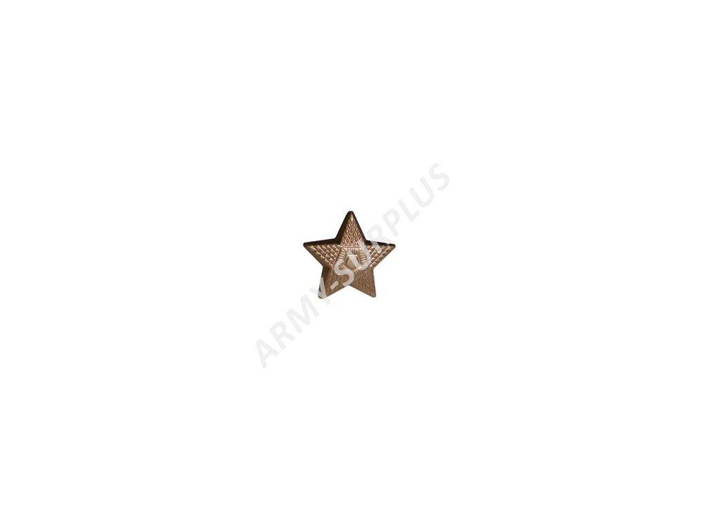 Odznak ČSLA pěticípá hvězda mořená malá