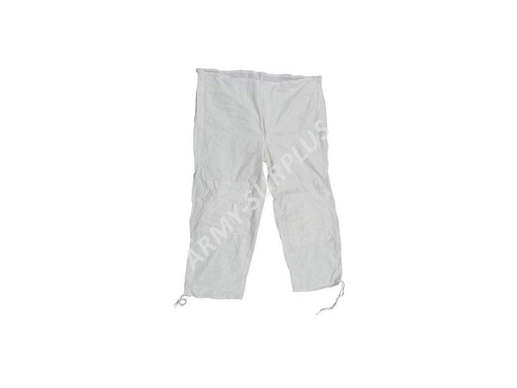 Kalhoty sněžné ČSLA převlekové zimní převlečník bílé originál
