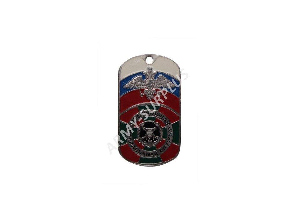 Ruské identifikační známky ID Dog Tags č.11
