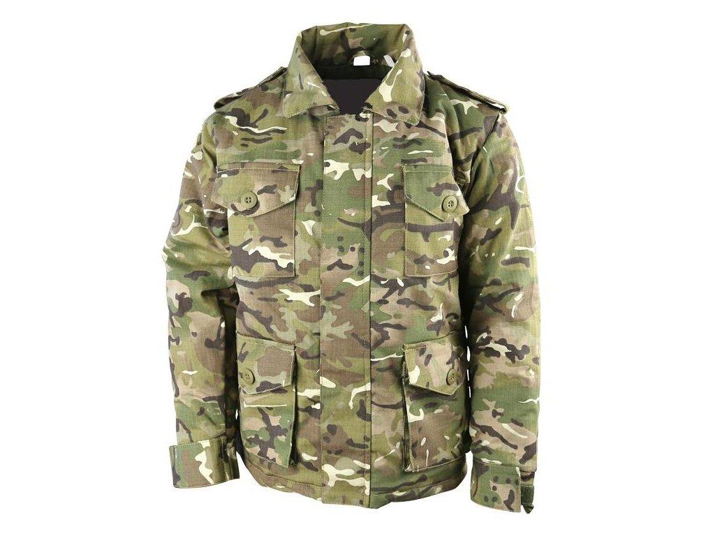 Polní kabát Safari (bunda) dětský BTP multicamo ripstop Velká ... 4a9fe7db68