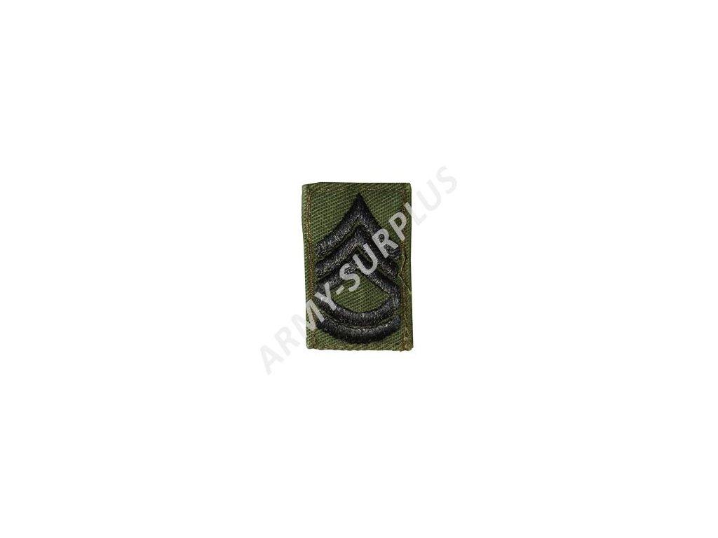 Hodnost US Army Sergeant First Class (rotmistr) originál