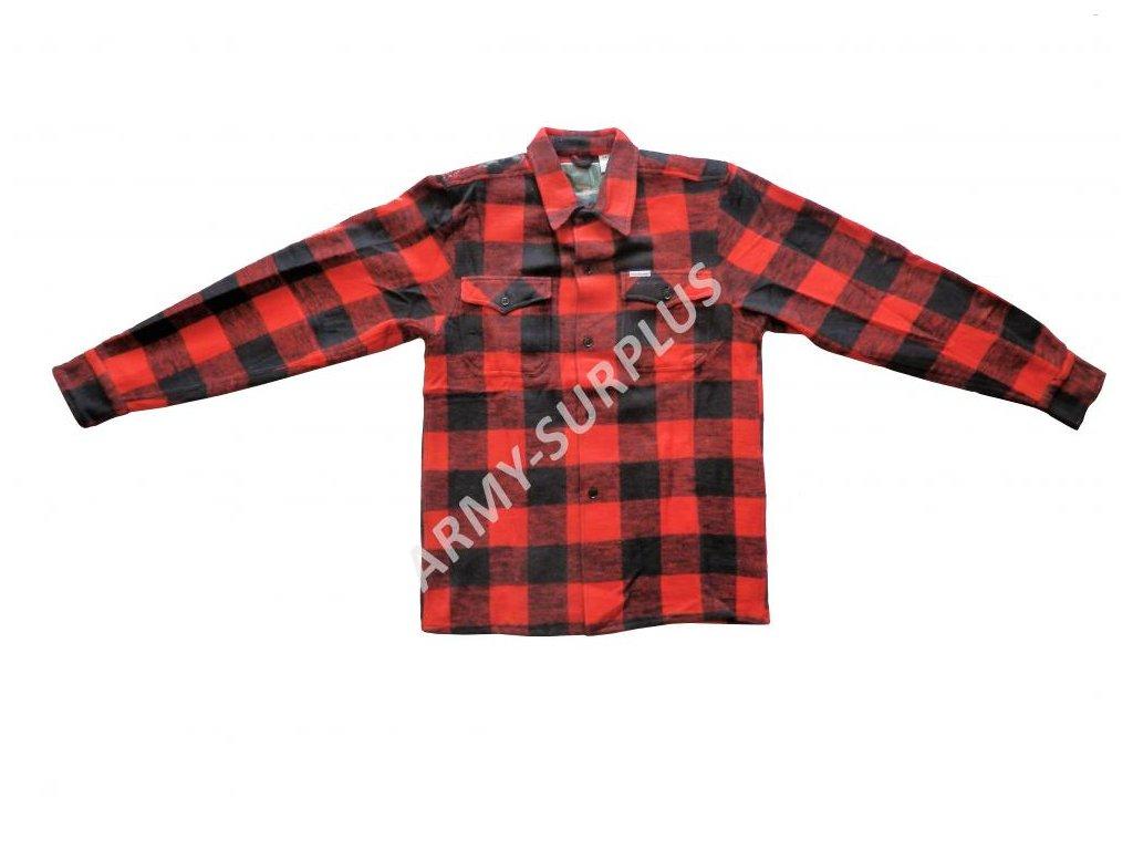 c076c78604c Košile dřevorubecká zimní Canadian kostkovaná s dlouhým rukávem ...
