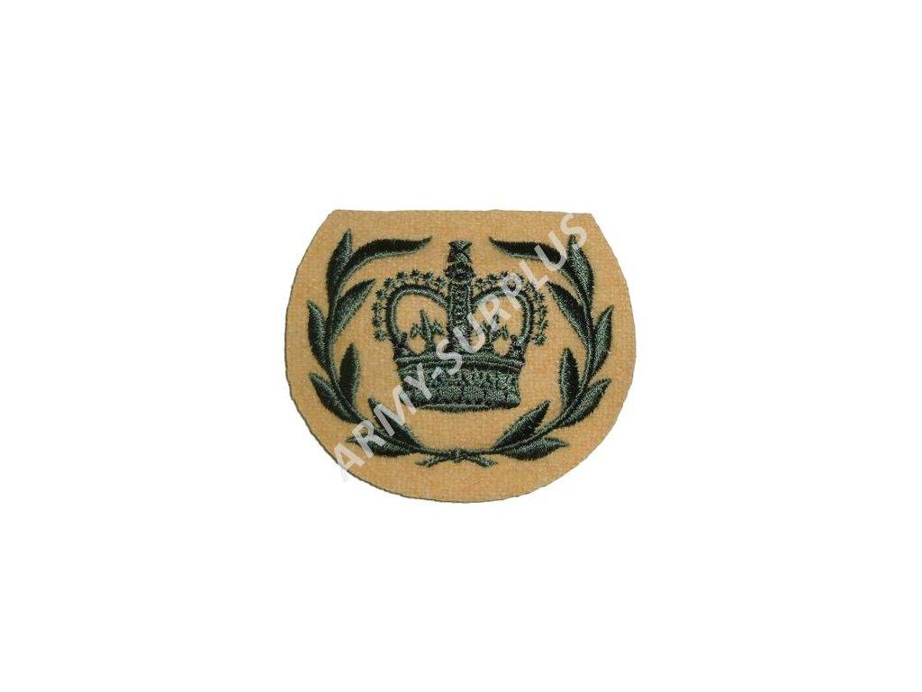 Nášivka Velká Británie královská koruna