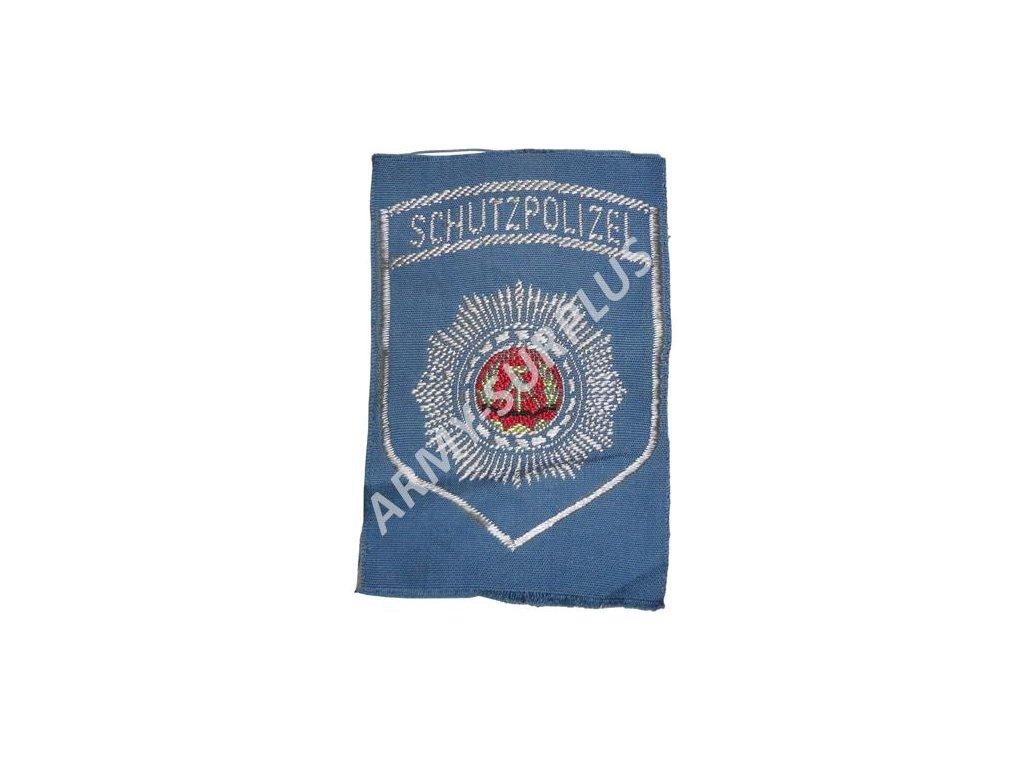 Nášivka NVA Schutzpolizei policie