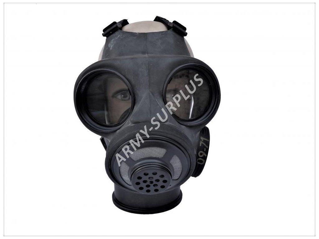 Plynová maska C3 Holandsko GTR 70