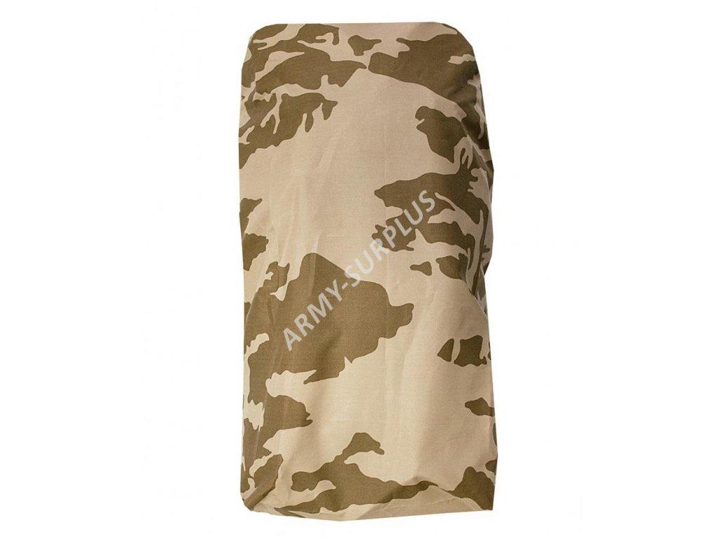 Potah (povlak,obal,převlek) na batoh a tlumok (20 - 25l) vz.95 desert s béžovým potiskem ripstop