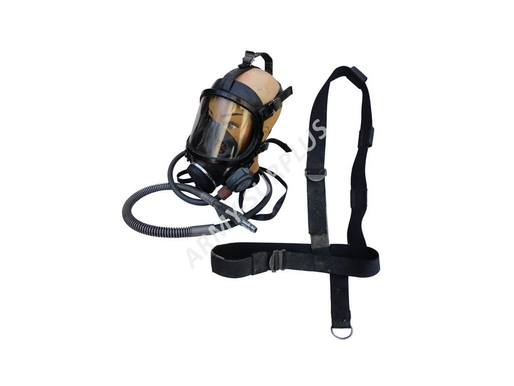 Plynová maska Panaseal Full Facemask Sabre Safety s hadicí