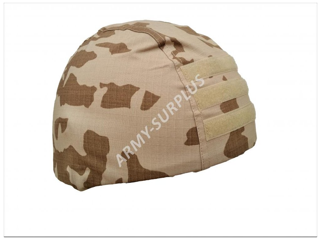 Povlak (potah) vz.95 s béžovým postiskem (pouštní) na přilbu (helmu) pro VP s BP ripstop