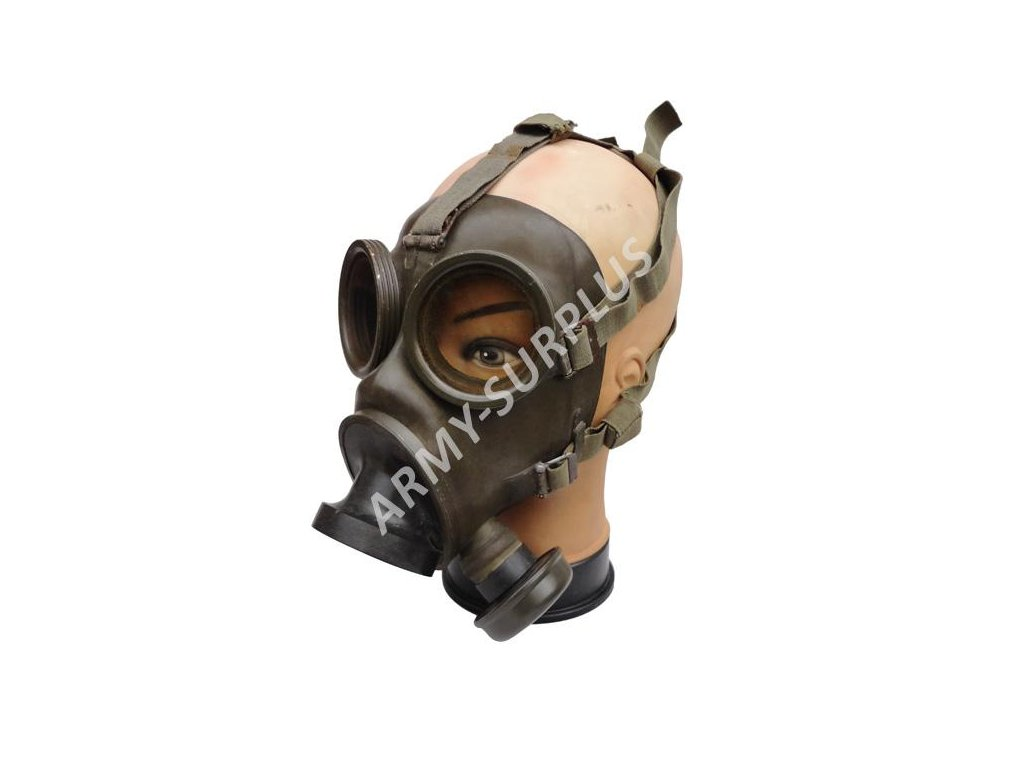Plynová maska K-53 Holandsko