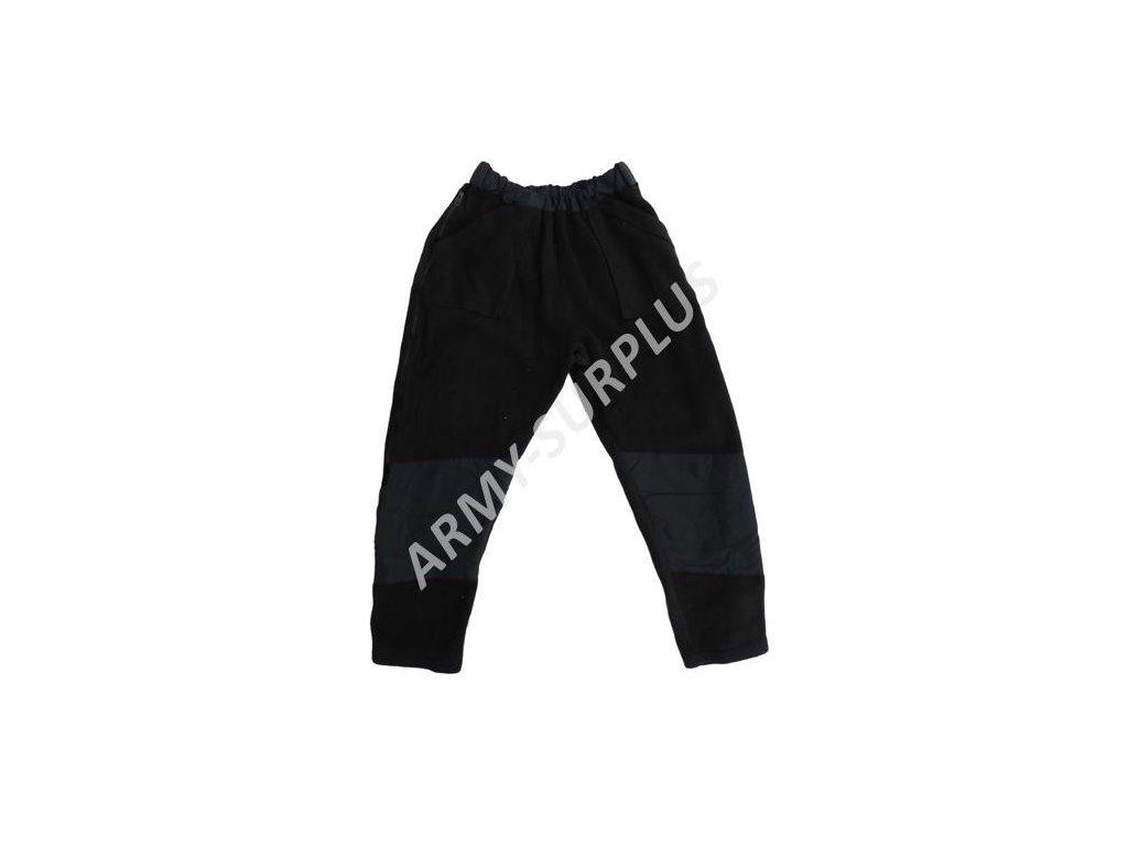 Kalhoty fleecové ECWCS US černé
