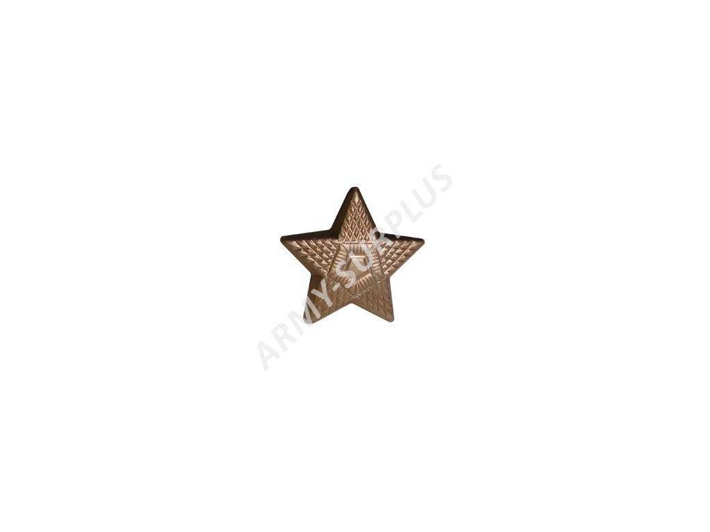 Odznak ČSLA pěticípá hvězda mořená velká