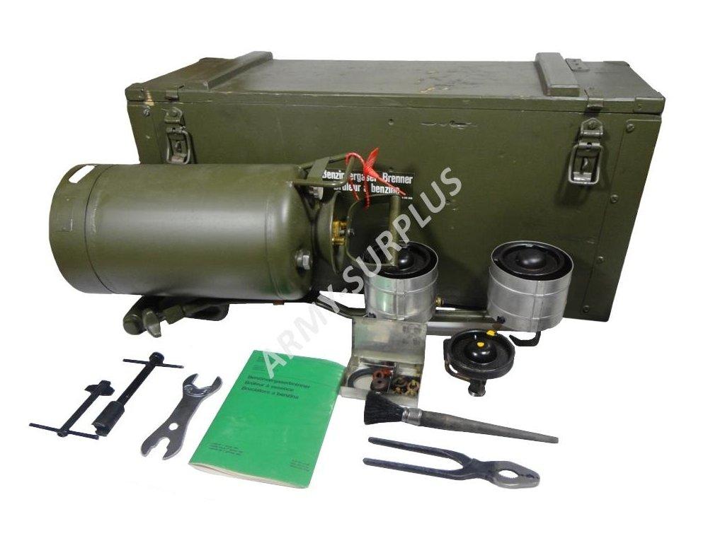 ee7c059f2ce5 Benzínový tlakový vařič (polní kuchyně) švýcarská armáda - ARMY-SURPLUS