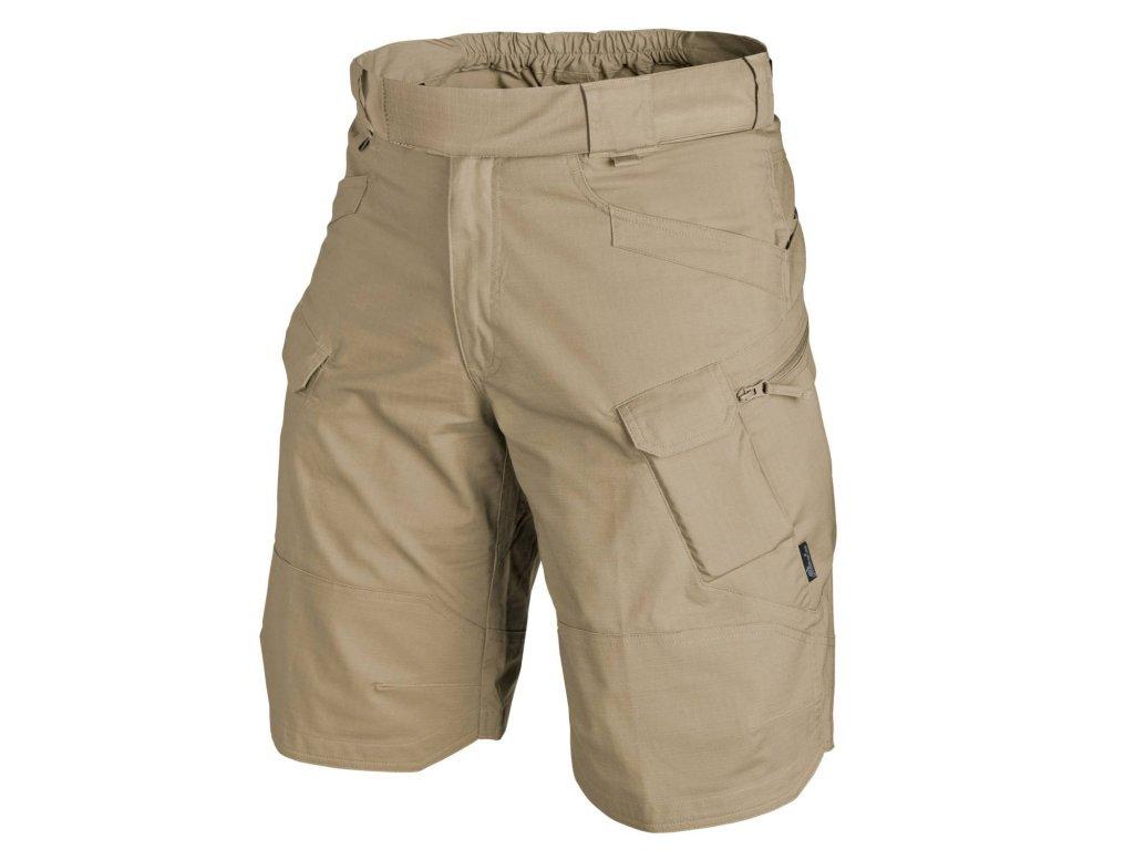 Kraťasy (bermudy, šortky) UTL UTS ripstop utility urban tactical shorts khaki Helikon SP-UTK-PR-13