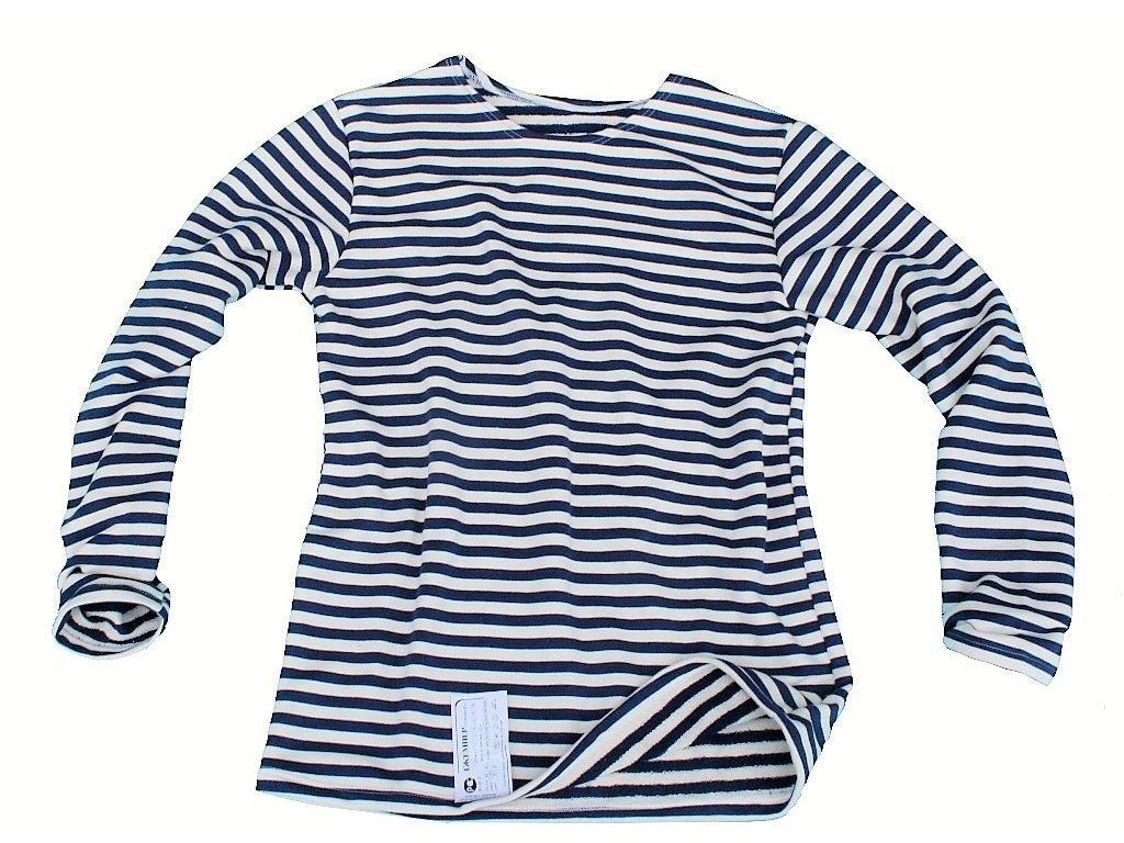 Tričko (triko) zimní ruské námořnické dlouhý rukáv tmavě modré originál VMF