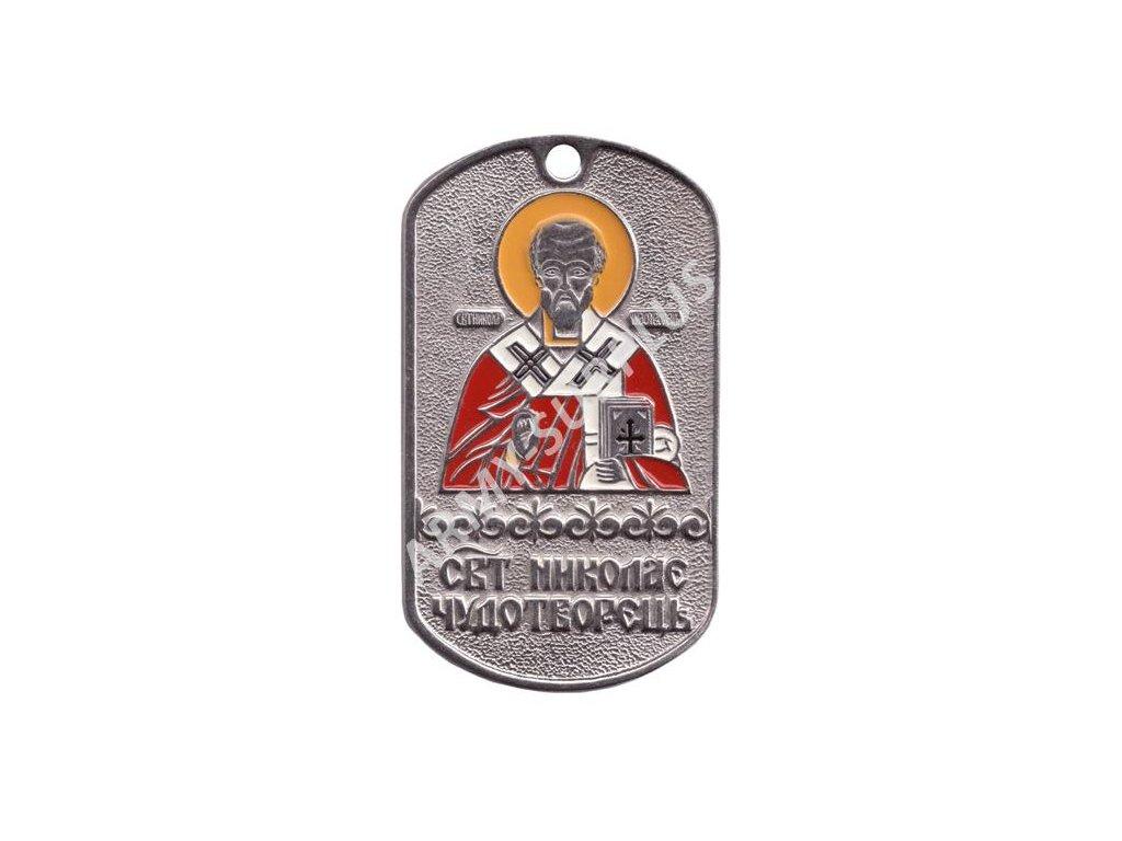 Ruské identifikační známky ID Dog Tags č.31