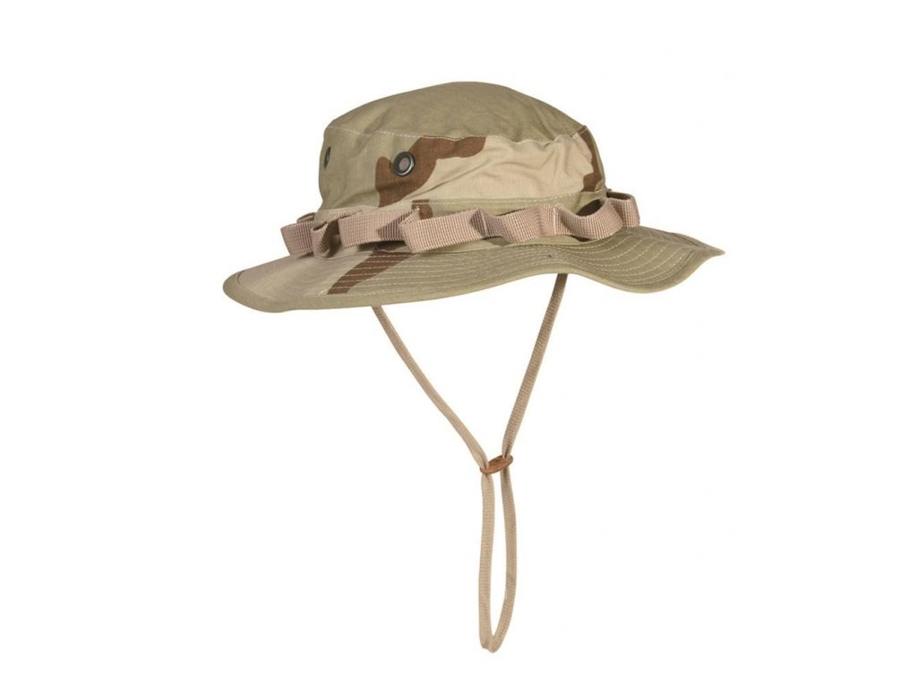Klobouk US jungle desert 3 color ripstop Teesar