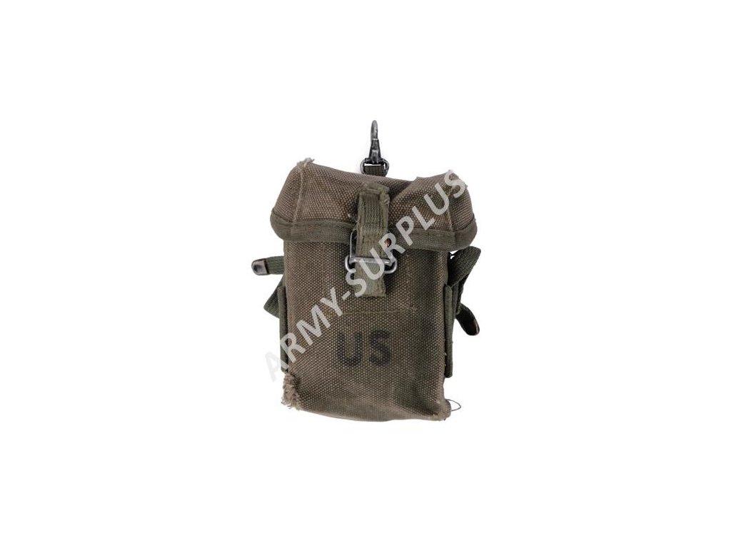 Sumka bavlna M16 US Vietnam M1956 originál na zásobníky - ARMY-SURPLUS 99cc2cb12a