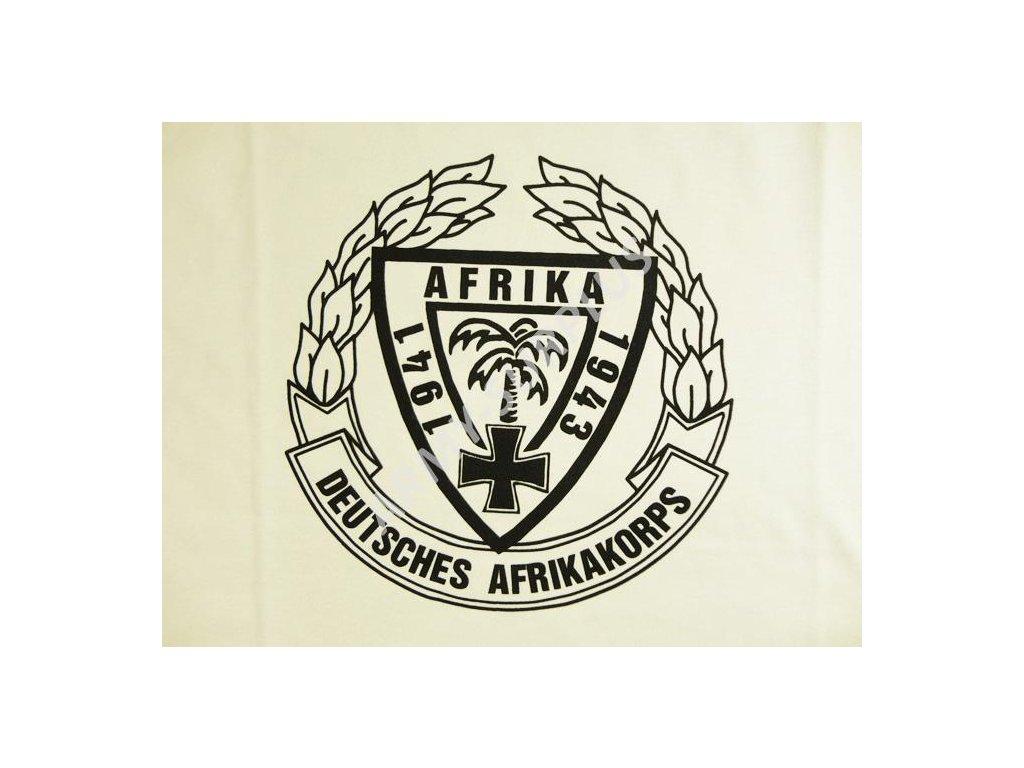 d534e272e6b Tričko (triko) potisk Afrikakorps pouštní - ARMY-SURPLUS