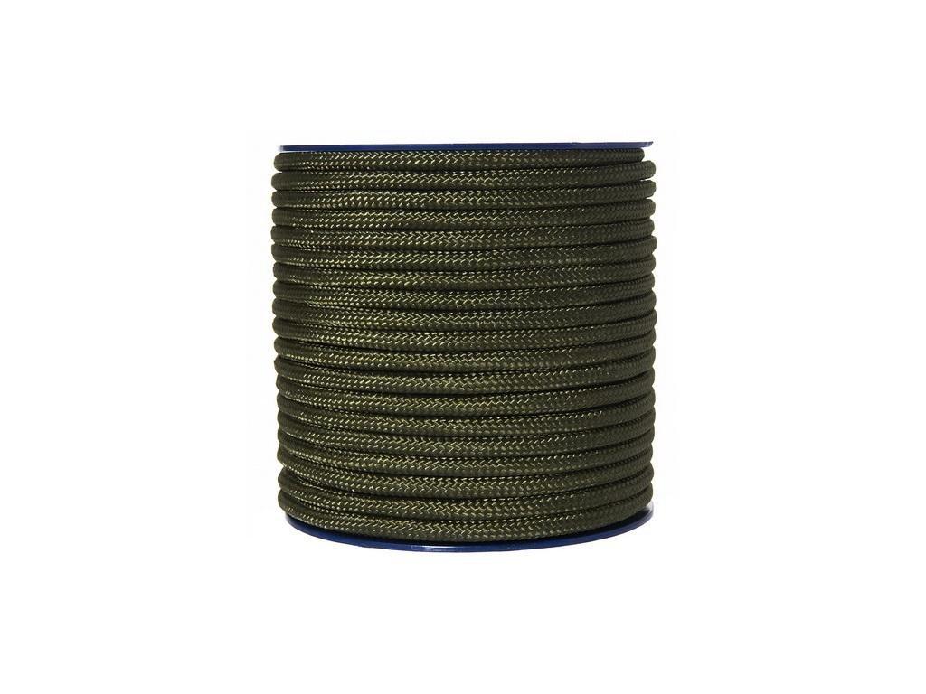 Šňůra univerzální 7mm oliv 1 m