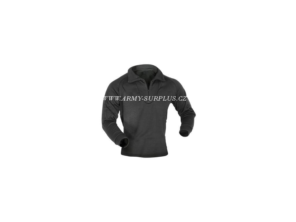 Tričko (triko) ECWCS termo US na zip černé