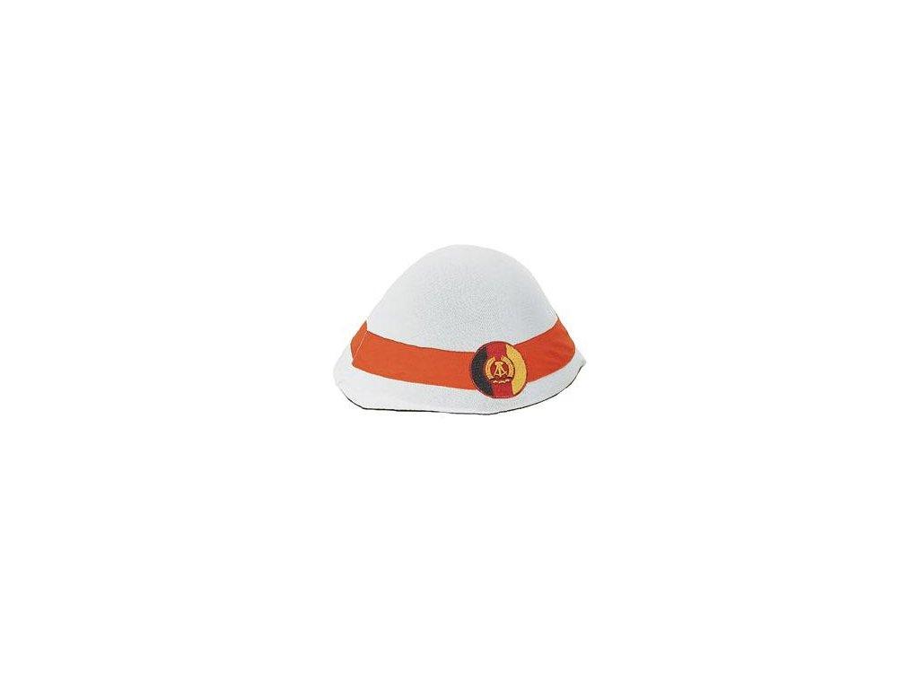 Potah (povlak,obal,převlek) na helmu NVA bílý originál